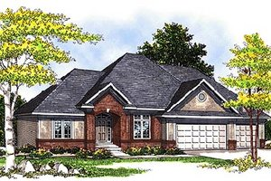 Traditional Exterior - Front Elevation Plan #70-339