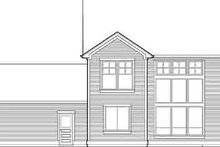 Dream House Plan - Country Exterior - Rear Elevation Plan #48-201