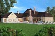 European Style House Plan - 5 Beds 4.5 Baths 4654 Sq/Ft Plan #45-379