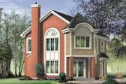 European Style House Plan - 3 Beds 1.5 Baths 1463 Sq/Ft Plan #25-4200 Exterior - Front Elevation