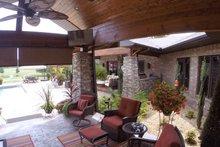 Architectural House Design - Contemporary Exterior - Outdoor Living Plan #17-2551