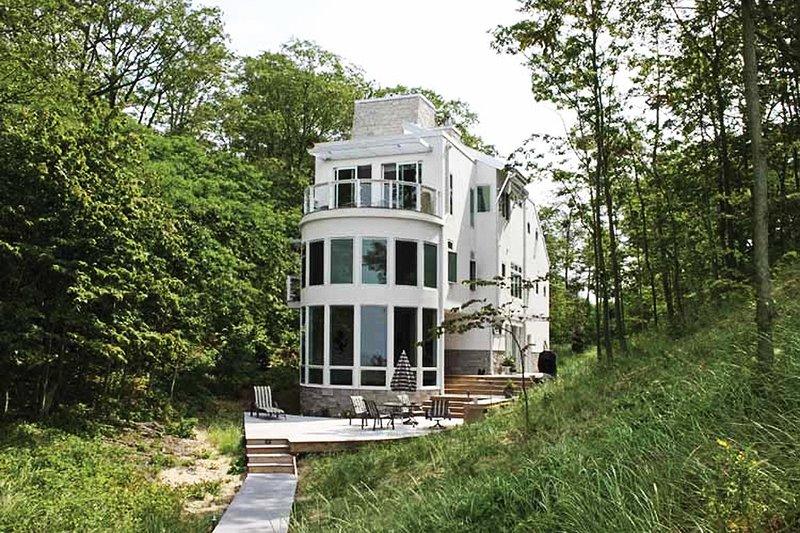 House Plan Design - Contemporary Exterior - Front Elevation Plan #928-31