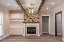 Architectural House Design - Craftsman Interior - Family Room Plan #430-157