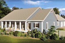 Home Plan - Southern Exterior - Front Elevation Plan #44-244