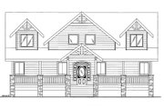 Bungalow Style House Plan - 4 Beds 2.5 Baths 2427 Sq/Ft Plan #117-736 Exterior - Front Elevation