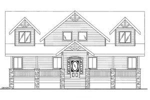 Bungalow Exterior - Front Elevation Plan #117-736