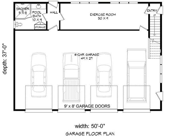 Country Floor Plan - Main Floor Plan #932-184