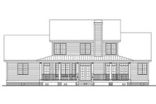 House Plan Design - Country Exterior - Rear Elevation Plan #929-667