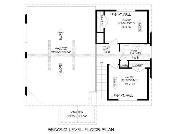 Dream House Plan - Farmhouse Floor Plan - Upper Floor Plan #932-387