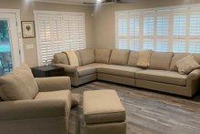 House Plan Design - Cottage Interior - Family Room Plan #44-165