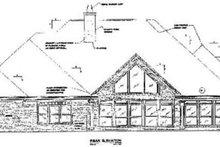 Traditional Exterior - Rear Elevation Plan #37-220