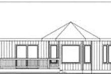 Traditional Exterior - Rear Elevation Plan #117-364