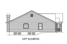Home Plan - Traditional Exterior - Other Elevation Plan #57-180