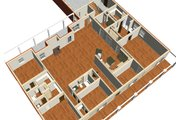 Country Style House Plan - 4 Beds 3 Baths 3029 Sq/Ft Plan #44-129
