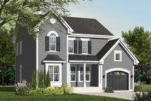 Home Plan - Farmhouse Exterior - Front Elevation Plan #23-2257