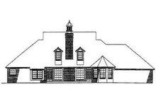 Dream House Plan - European Exterior - Rear Elevation Plan #310-526
