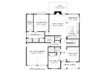 Victorian Floor Plan - Main Floor Plan Plan #413-882