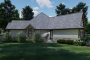 Craftsman Style House Plan - 3 Beds 2 Baths 1848 Sq/Ft Plan #120-171 Exterior - Other Elevation