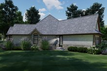 House Plan Design - Craftsman Exterior - Other Elevation Plan #120-171