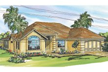 Home Plan - Mediterranean Exterior - Front Elevation Plan #124-248