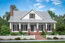House Plan Design - Farmhouse Exterior - Front Elevation Plan #430-198