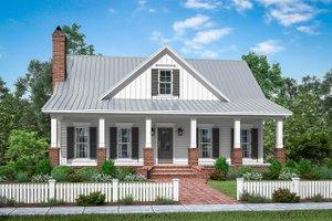 Farmhouse Exterior - Front Elevation Plan #430-198