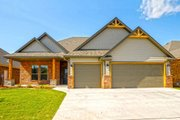 Craftsman Style House Plan - 3 Beds 2.5 Baths 1994 Sq/Ft Plan #65-517 Exterior - Front Elevation