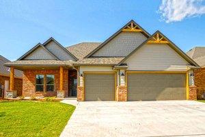Craftsman Exterior - Front Elevation Plan #65-517