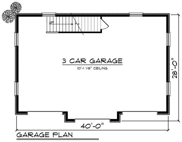 Cottage Floor Plan - Main Floor Plan Plan #70-1409