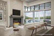 House Plan Design - Contemporary Interior - Family Room Plan #930-475