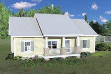 Craftsman Exterior - Front Elevation Plan #44-226