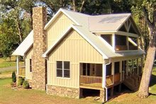 House Plan Design - Country Exterior - Other Elevation Plan #932-3