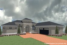 Ranch Exterior - Front Elevation Plan #930-487