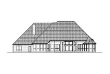 Home Plan - Mediterranean Exterior - Rear Elevation Plan #84-424