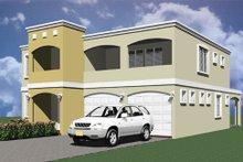 Home Plan - Modern Exterior - Other Elevation Plan #495-4