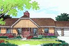 Traditional Exterior - Front Elevation Plan #45-228