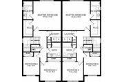 Craftsman Style House Plan - 5 Beds 3.5 Baths 2255 Sq/Ft Plan #126-197