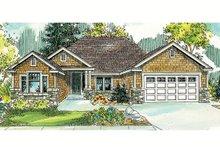 Craftsman Exterior - Front Elevation Plan #124-765