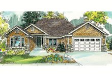 Dream House Plan - Craftsman Exterior - Front Elevation Plan #124-765