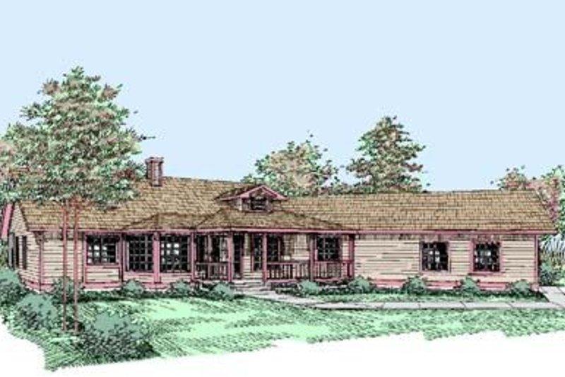 House Plan Design - Ranch Exterior - Front Elevation Plan #60-406