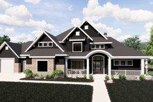 Architectural House Design - Craftsman Exterior - Front Elevation Plan #920-59