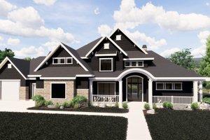 Craftsman Exterior - Front Elevation Plan #920-59
