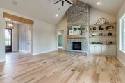 Farmhouse Style House Plan - 3 Beds 2.5 Baths 2316 Sq/Ft Plan #1067-1 Interior - Family Room