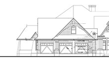 Architectural House Design - Optional 3 Car Garage