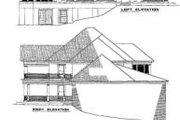 House Plan - 6 Beds 5 Baths 7870 Sq/Ft Plan #17-2098 Exterior - Rear Elevation