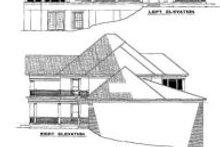 House Plan Design - Exterior - Rear Elevation Plan #17-2098