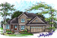 Dream House Plan - Ranch Exterior - Front Elevation Plan #70-1033