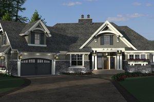 Craftsman Exterior - Front Elevation Plan #51-569