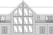 Modern Exterior - Rear Elevation Plan #117-153