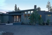 Contemporary Style House Plan - 3 Beds 2.5 Baths 3247 Sq/Ft Plan #892-9 Exterior - Front Elevation
